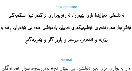 Preview for PakType Naqsh